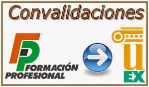 - Convalidaciones FP - UEX