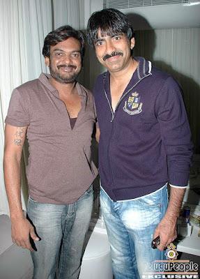 Purijagannath with Crazy Star Ravi Teja