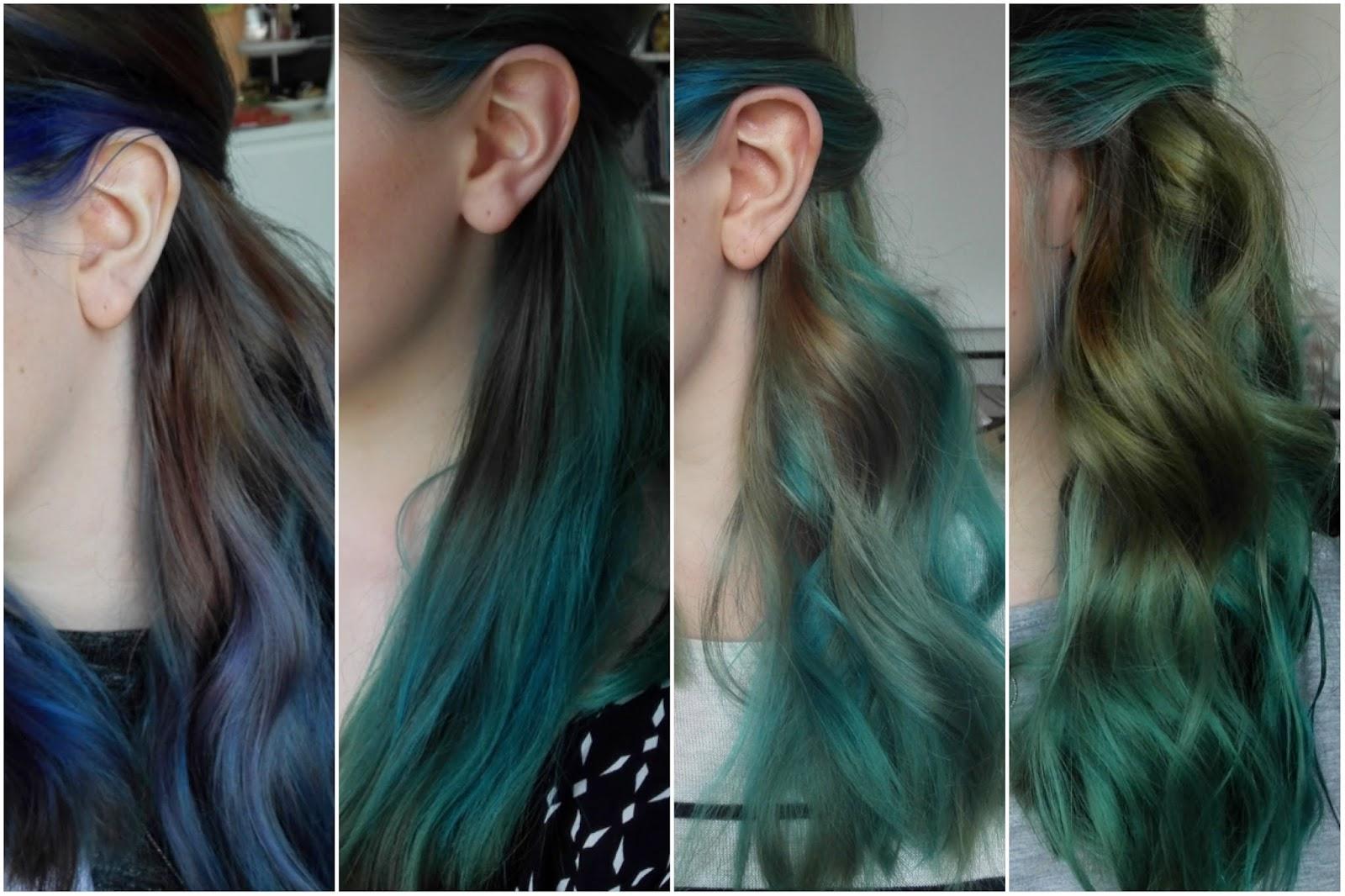 Haare farben nach 4 wochen