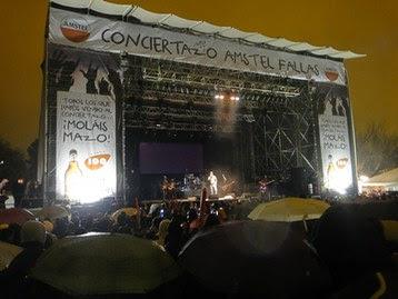 conciertos fallas 2013