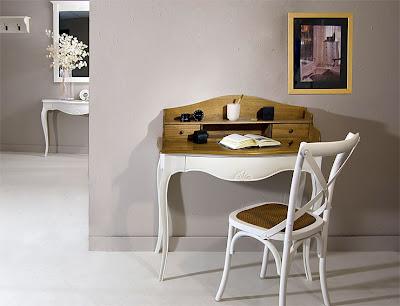 escritorios vintage con mucho encanto