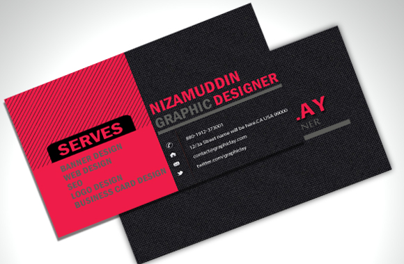 New Stylish Business Card free psd file Collections