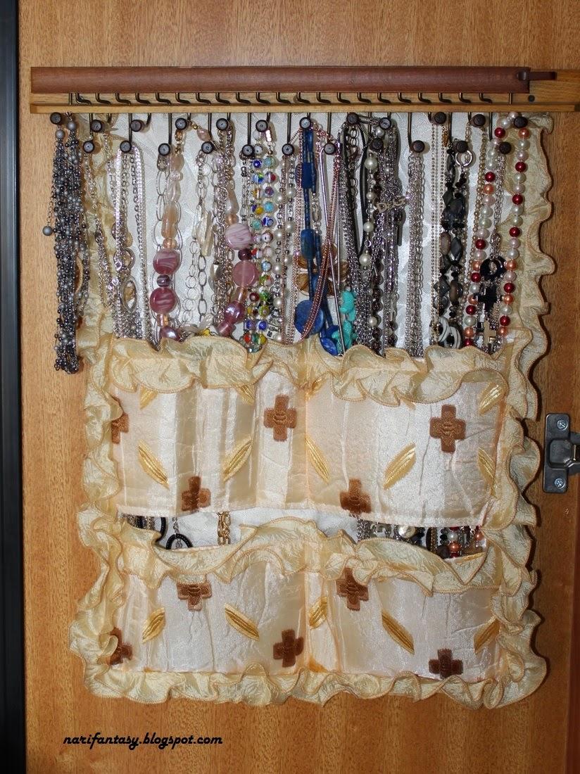 Nari fantasy come realizzare un pannello porta collane in - Porta collane da armadio ...