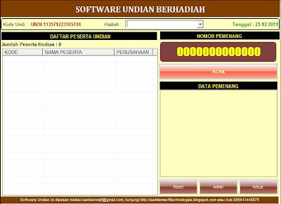 Software Undian