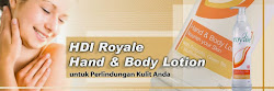 ROYALE HAND & BODY LOTION