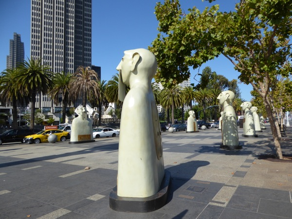 Our Silences Rivelino sculptures San Francisco
