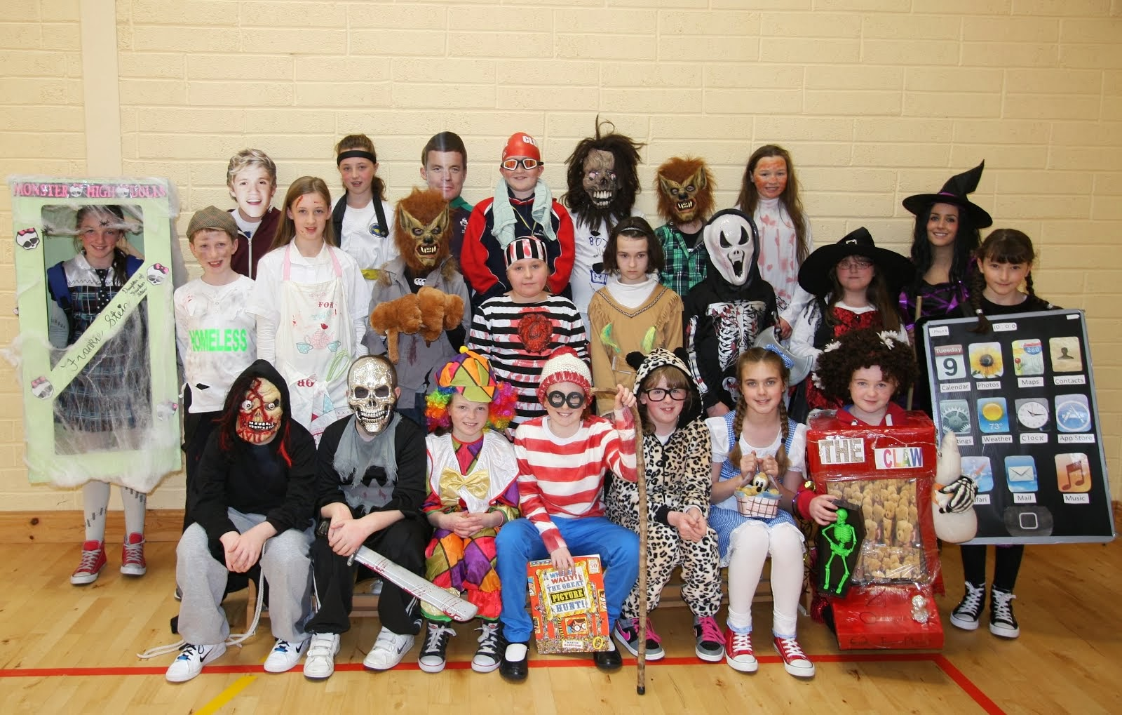 Fifth class halloween 2013