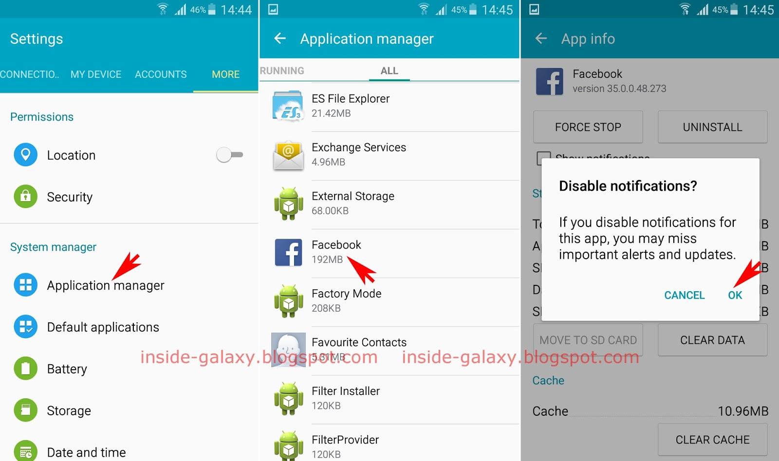 Samsung galaxy s4 how to block application notifications in android method 1 from the app manager menu publicscrutiny Choice Image