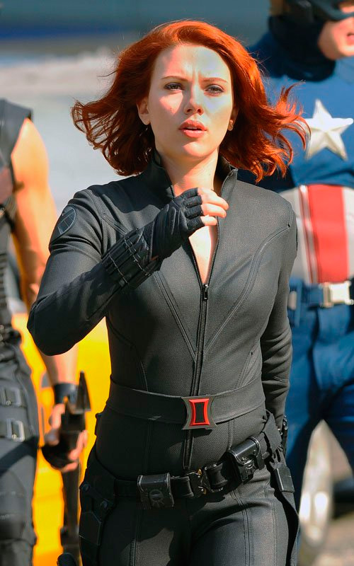 THE AVENGERS -FOTOS DEL RODAJE-