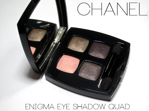 chanel enigma eyeshadow review