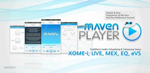 MAVEN Music Player (Pro) Apk Gratis (Mejor calidad de sonido android)