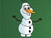 Frozen Olaf Plasticine
