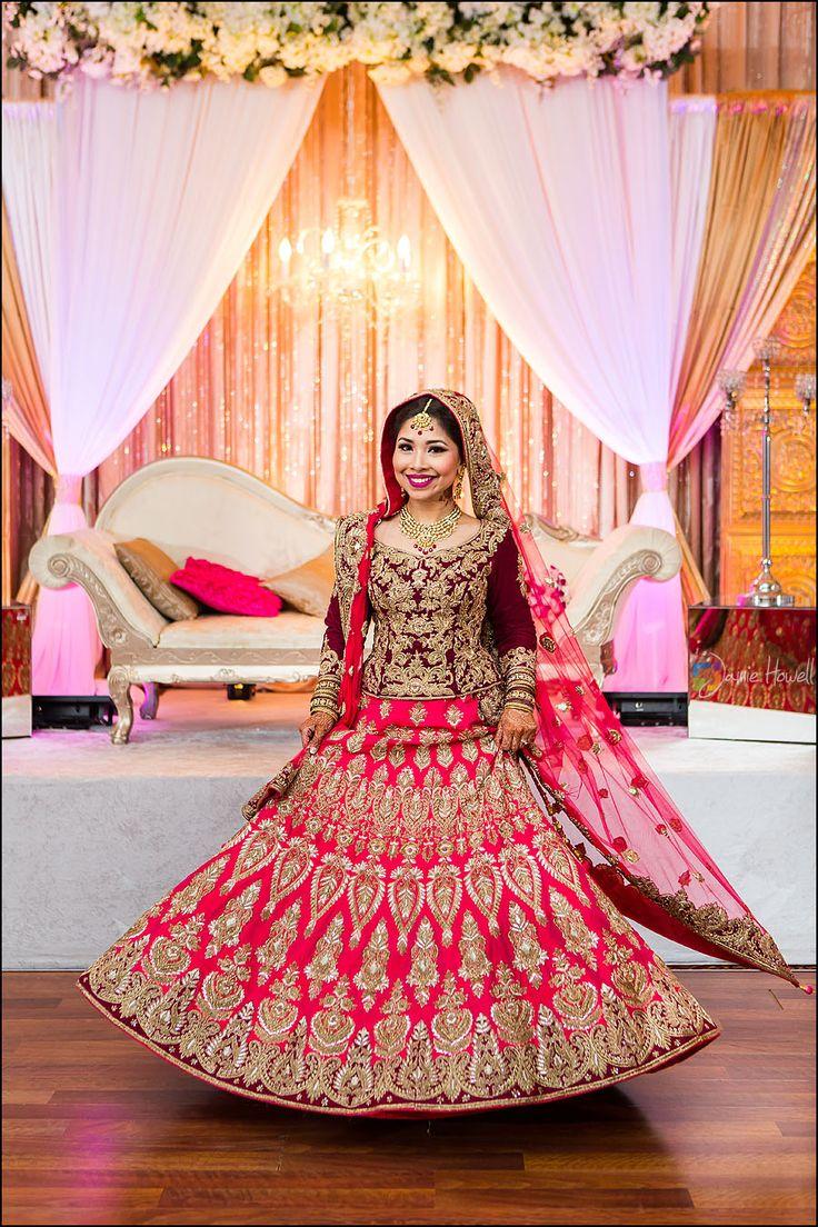 Designer North Indian Bridal Saree