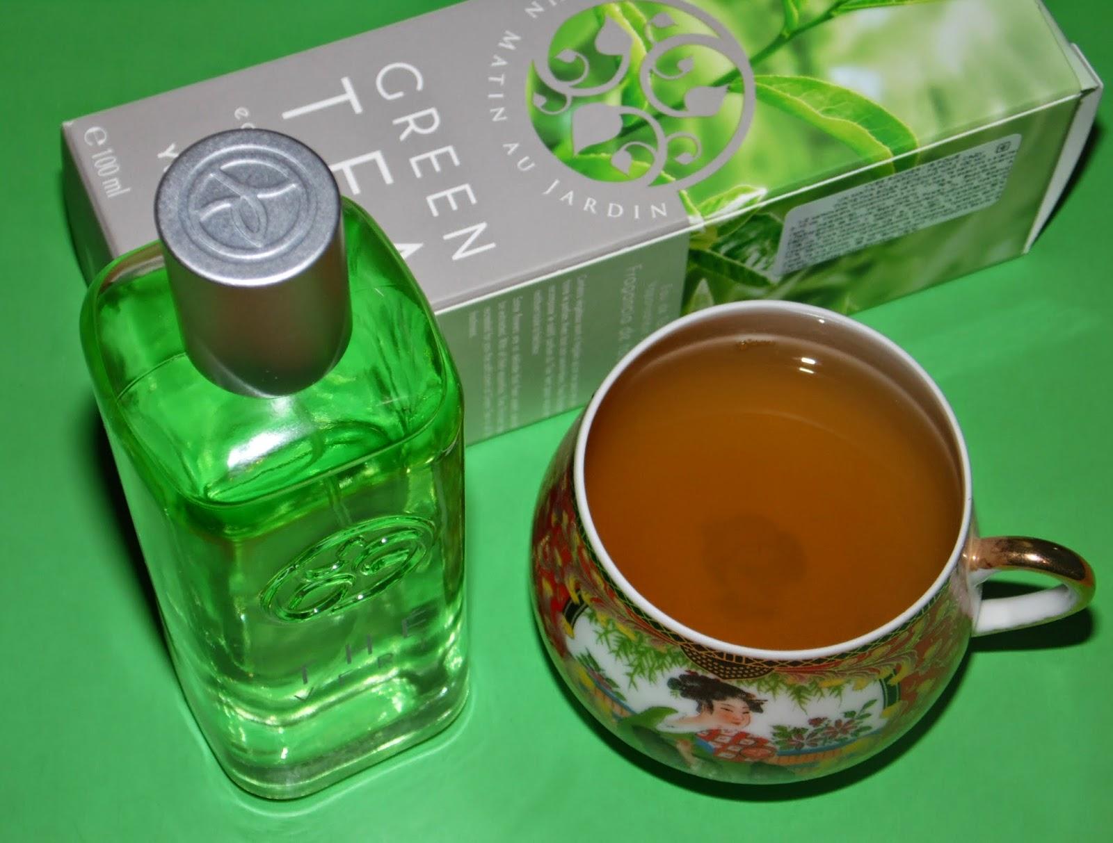 Зелёный чай туалетная вода