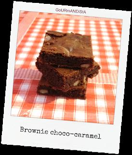Image Brownie choco-caramel