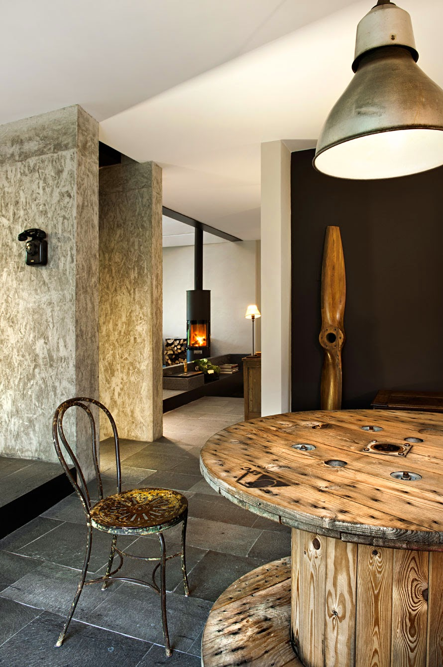 Italian industrial style coffee break the italian way for Riviste interior design