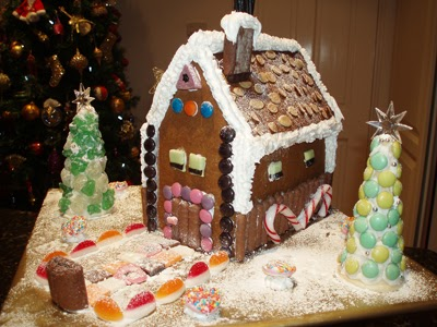 Make Your Own Gingerbread House For Christmas