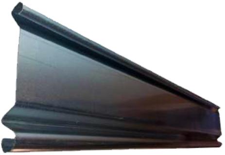 Lama ciega hierro galvanizado