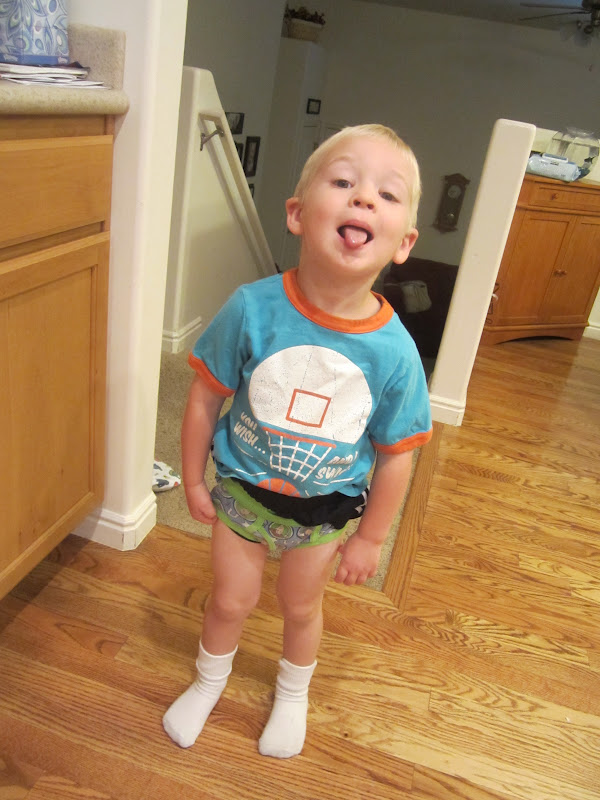 toddler boy pees underwear