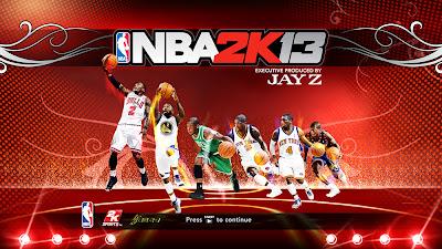 NBA 2K13 Nate Robinson Startup Screen Mod