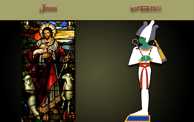 Christmas Story Smackdown: A comparison of the many similarities between Jesus and Horus, who predated Jesus by 3,000 years.