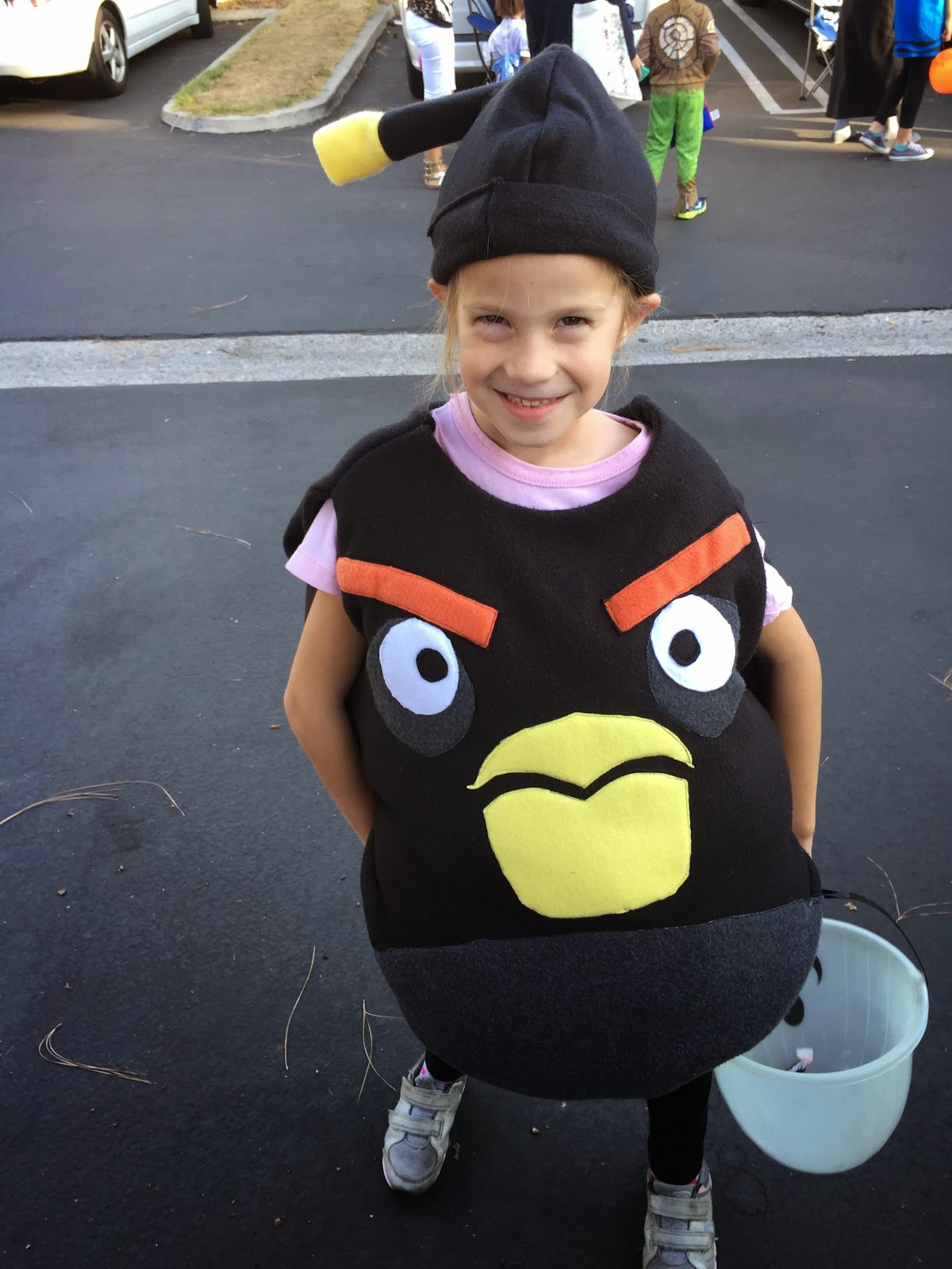 Chadwicks' Picture Place: Homemade Black Angry Bird (Bomb ...