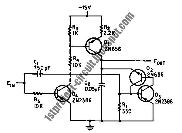 project circuit design  pulse width to analog voltage