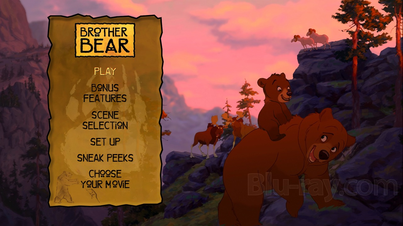 The Lion King Dvd Menu - The Best Lion In 2018 Brother Bear Dvd Menu