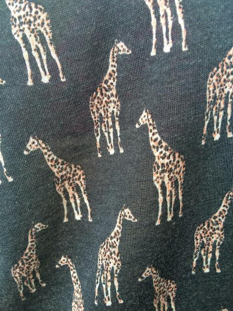 h&m giraffe shirt