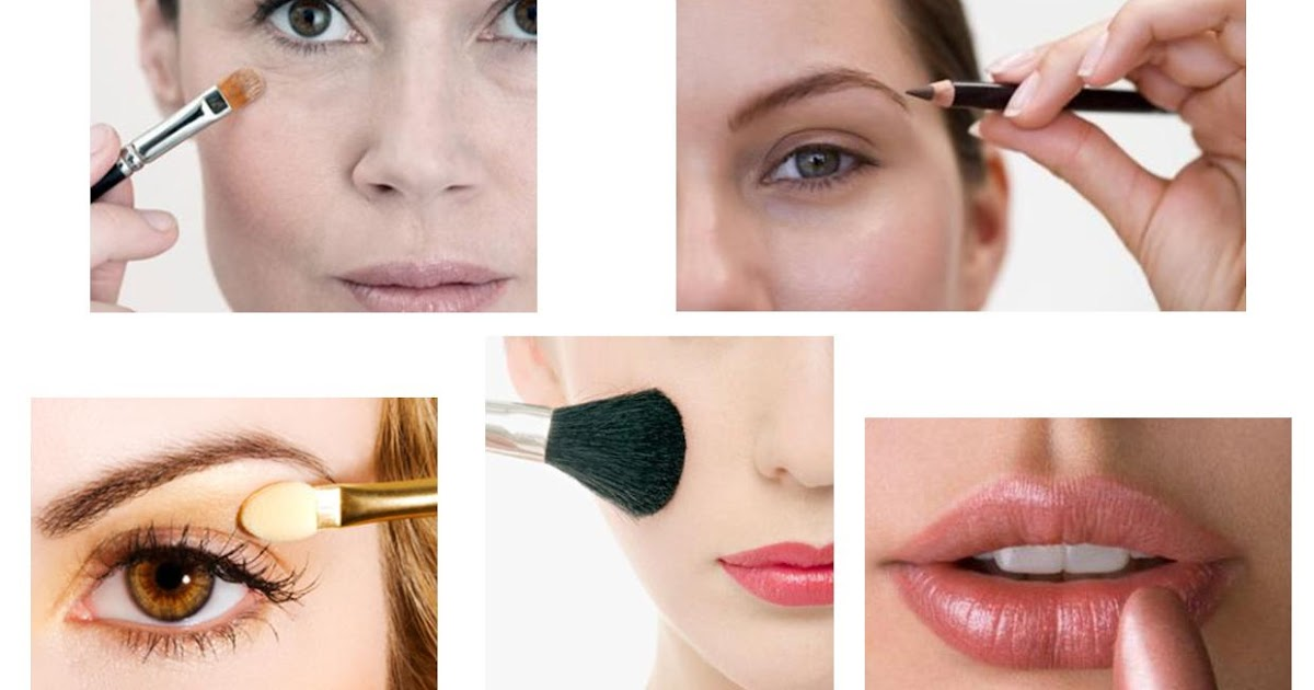 how to do your makeup to look younger
