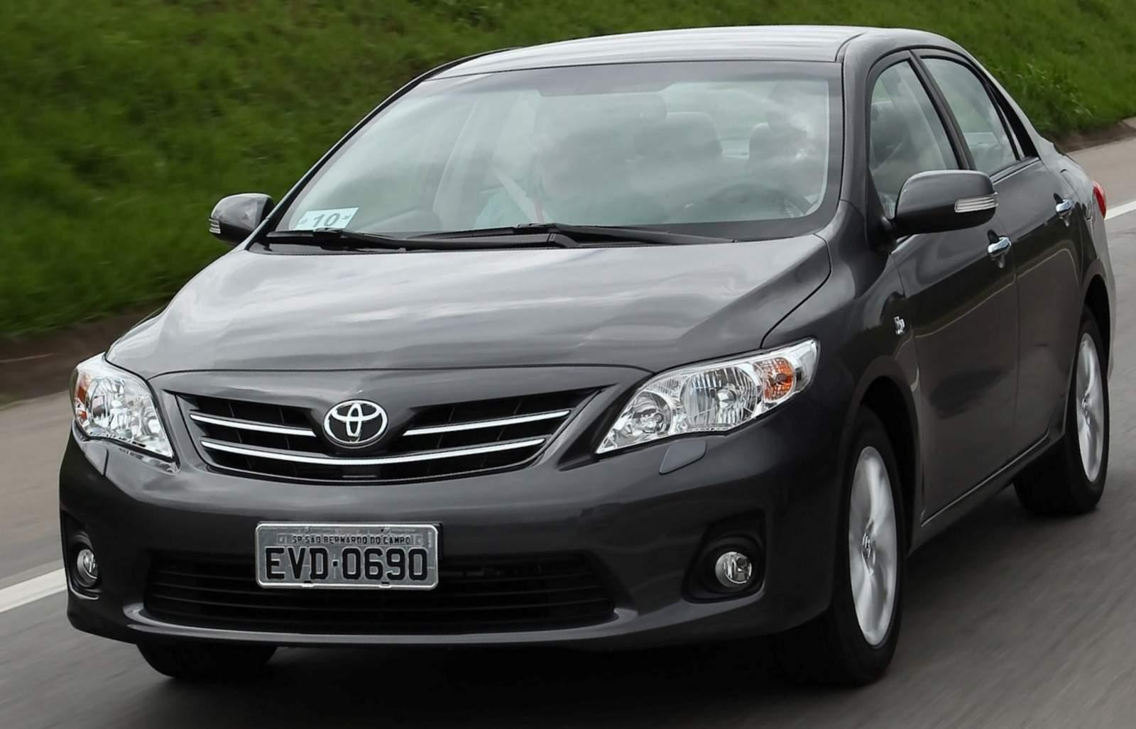 do carro , que equipa as versões Altis XRS e XEi do Corolla 2014