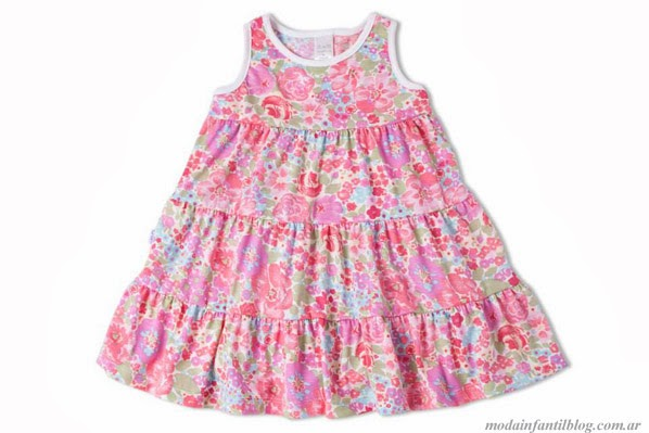 vestidos de moda GdeB niñas primavera verano 2014