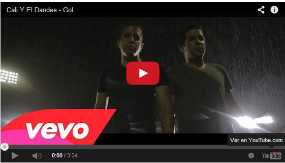 musica de Cali Dandee _ Gol, musica para el mundial