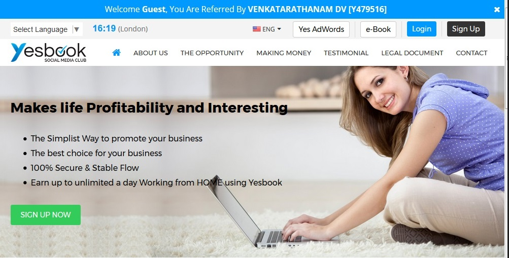 YESBOOK LIMITED PROMOTION ONLINE PLAN REVIEW IN HINDI ENGLISH TELUGU