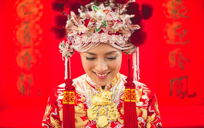 On pense aux mariées asiatiques