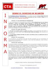 SOBRE EL DERECHO DE REUNIÓN