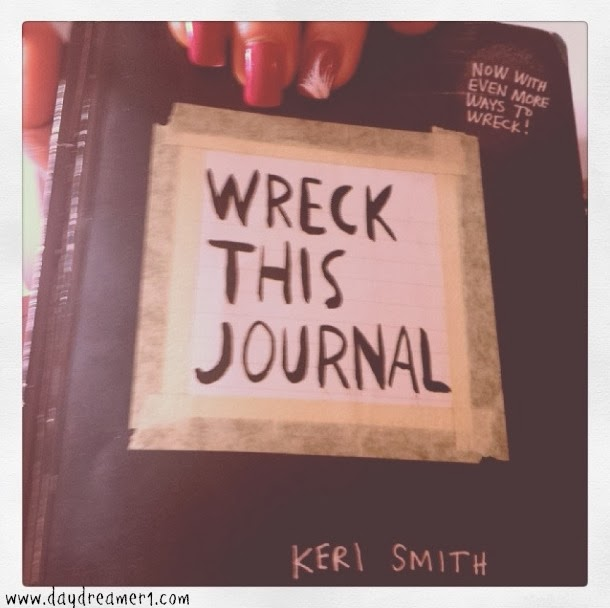 Wreck This Journal- A Fun Way To Beat The Winter Blues