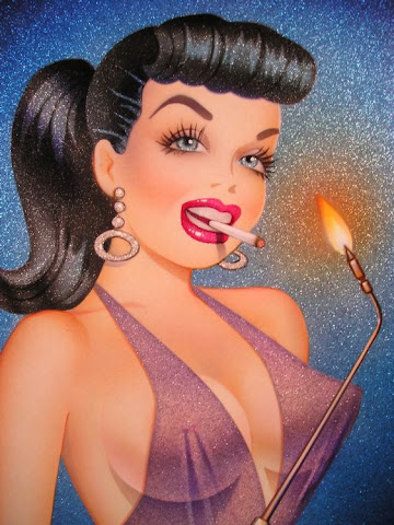 Dale Sizer pin up girl