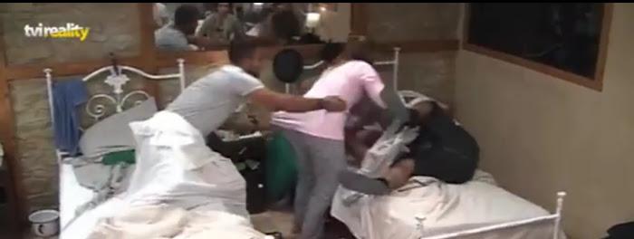 "Liliana agride Larama e insulta-o ""Macaco"" (vídeo)"