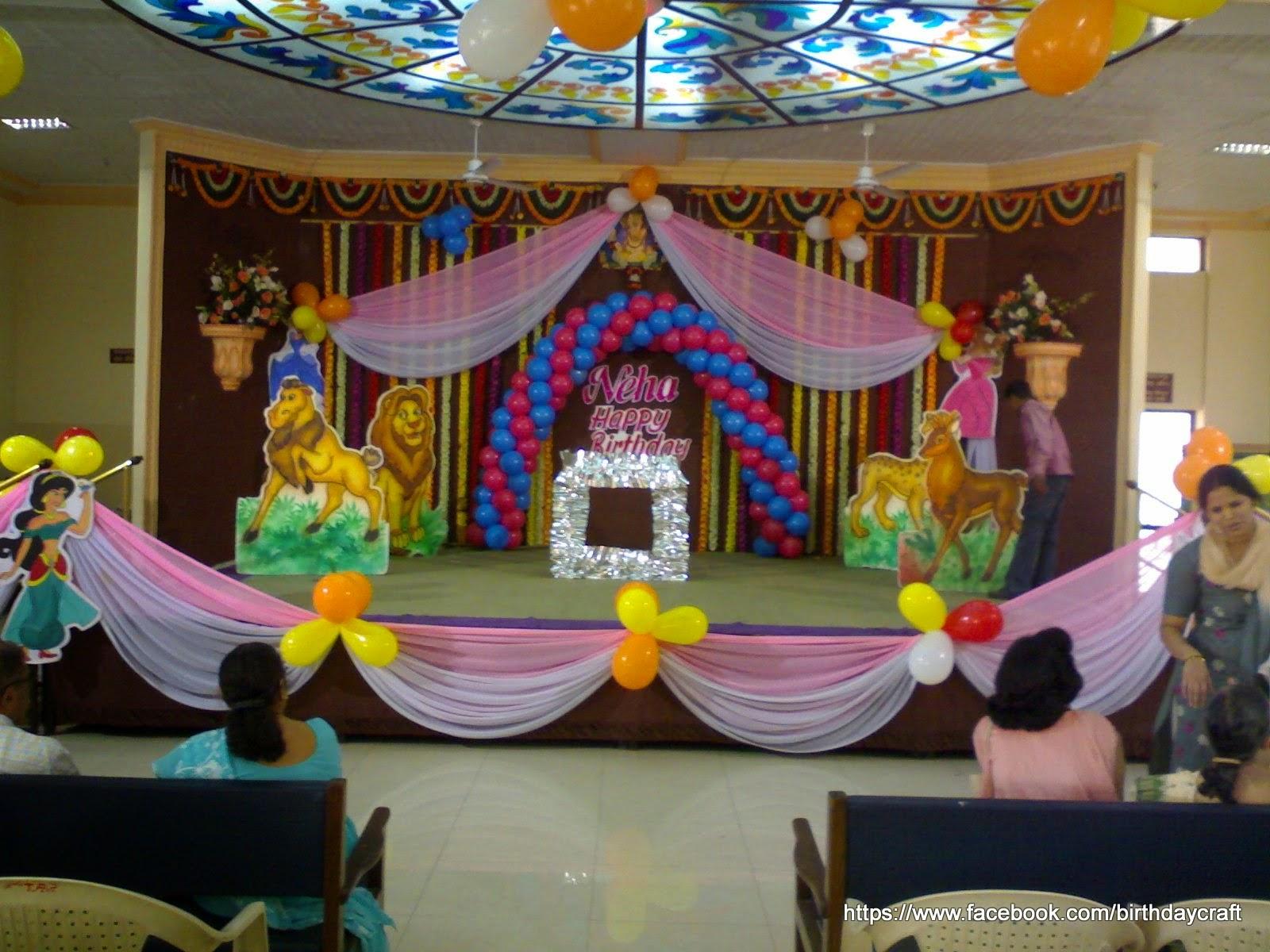 Pune Premier Children Birthday Party Planners Birthday Craft - Childrens birthday party planners