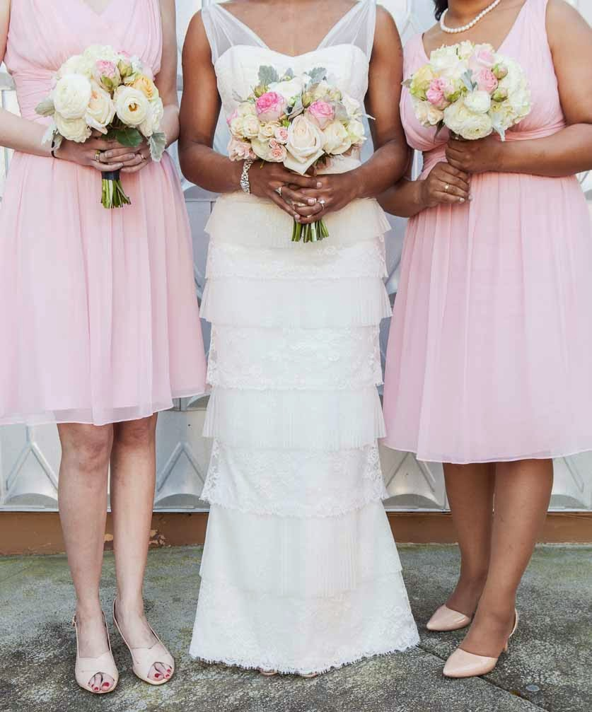 blush wedding flowers, blush roses, blush flowers, wedding, Flora Nova Design Seattle