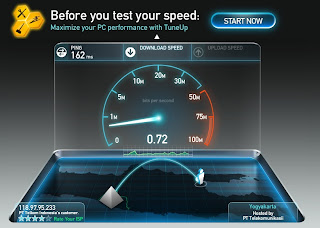 Speedtest Flexi, Speedtest Flexi EVDO, Test Flexi Mobile Broadband