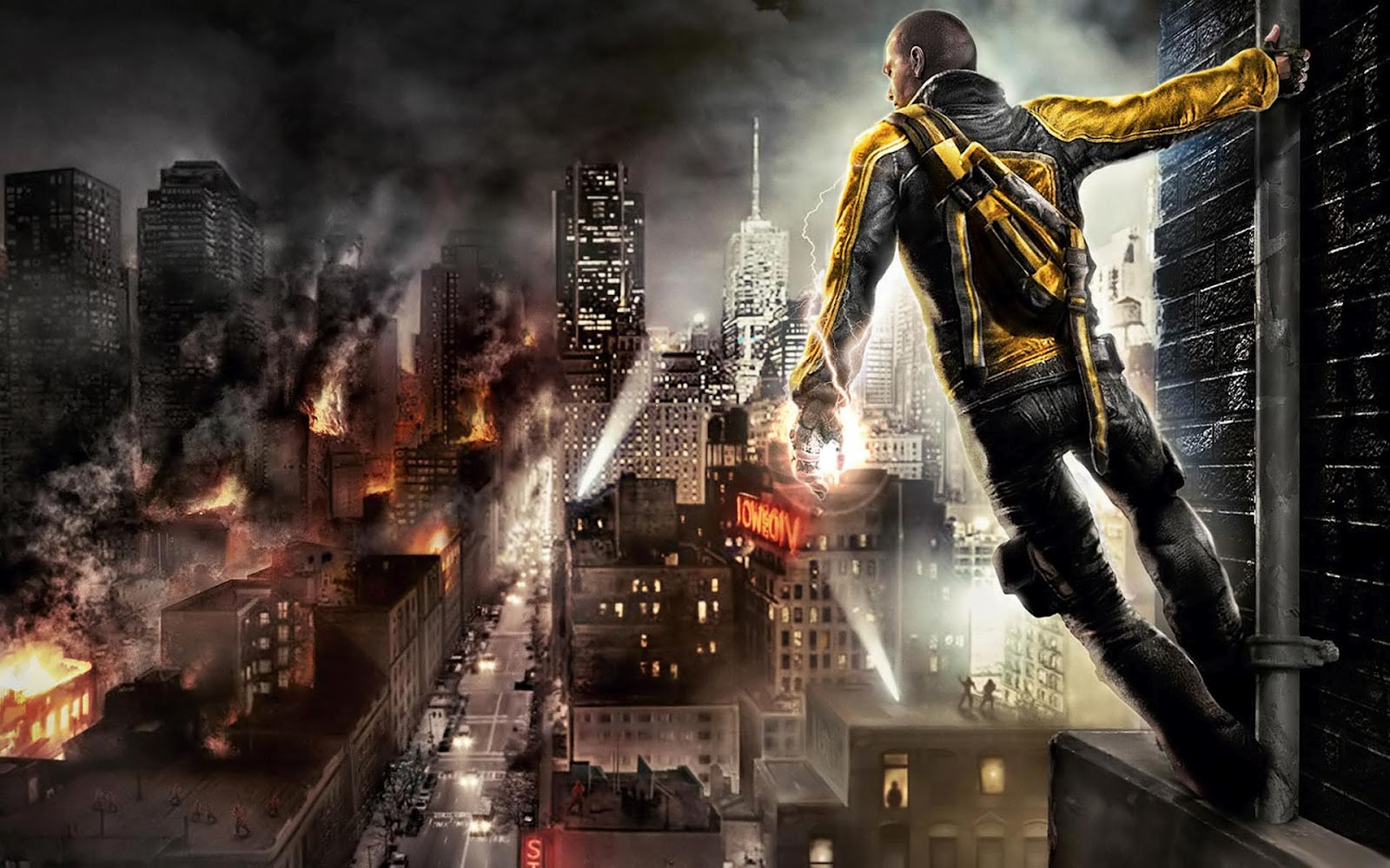 Infamous - PlayStation 3 Review   Chalgyr's Game Room on