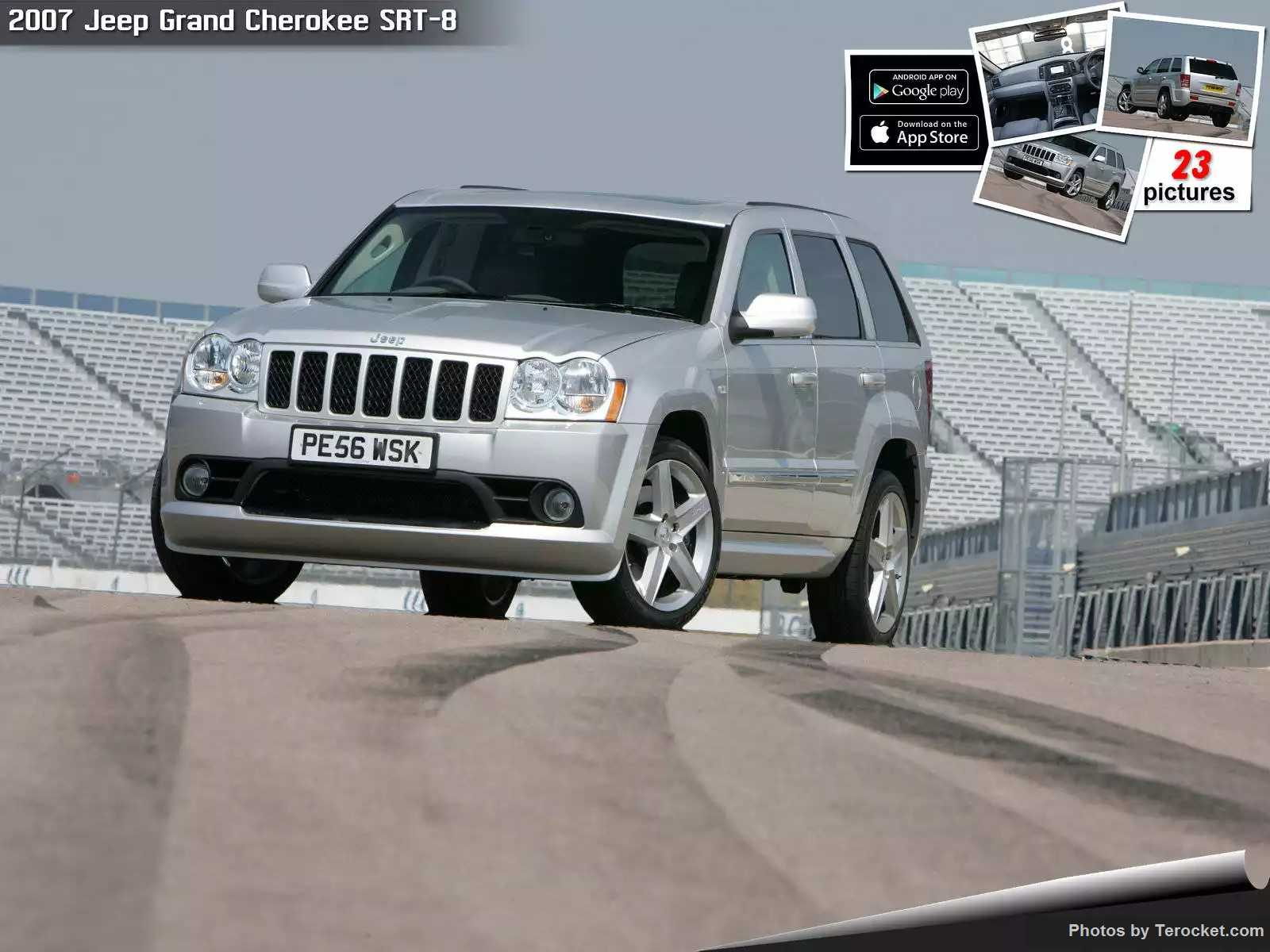 Hình ảnh xe ô tô Jeep Grand Cherokee SRT-8 UK Version 2007 & nội ngoại thất