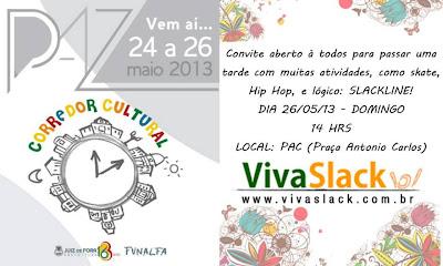 corredor+slack - Viva Slack no Corredor Cultural