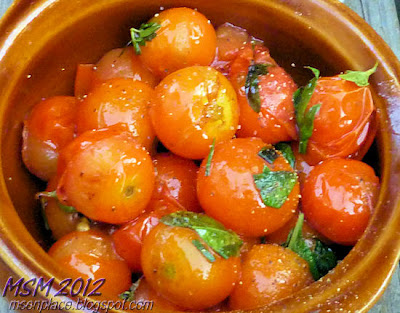 Herby Cherry Tomatoes | Ms. enPlace