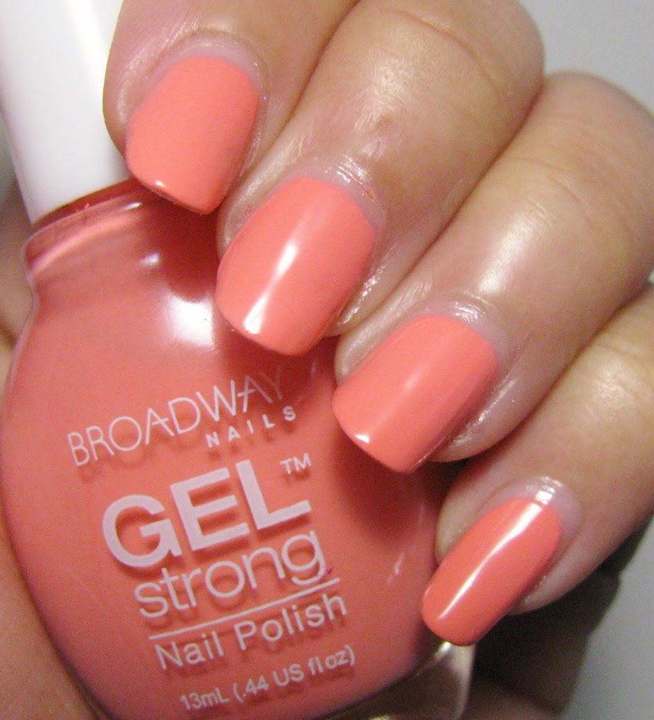 The Super Secret Nail Blog: Broadway Nails Gel Strong Review ...