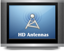 Watch FREE TV with HD Antennas