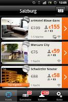 Screenshot Just Book App 2012