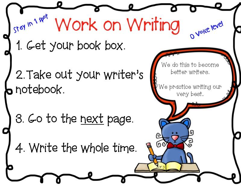 Work writing